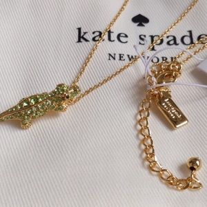 kate spade Jewelry - Kate Spade Swamped Alligator Necklace